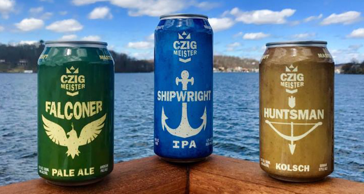 An example of the beer available on the Lake Hopatcong Cruises.